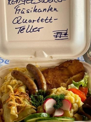Rengetsweiler Musikanten Quartett Teller